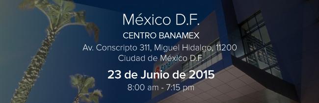 Conferencistas: México D.F. CENTRO BANAMEX